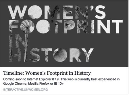 Womens Footprint in History_UNWomen