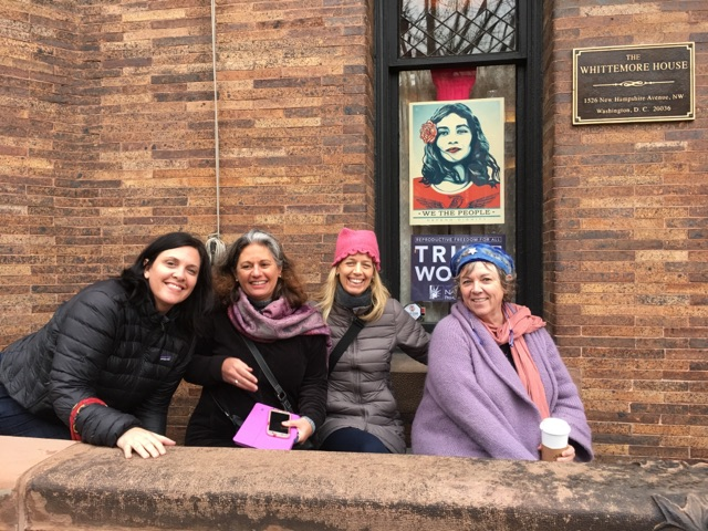 The day before the Women's March, we spent the day at the Woman's National Democratic Club in Washington, D.C., founded in 1922 by the suffragettes.